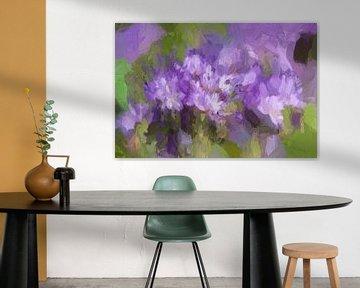 Lila Blumen von Yvon NL