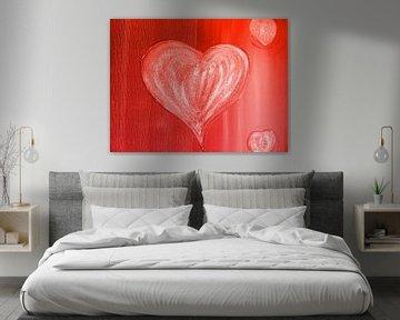 Herz rot sur Katrin Behr