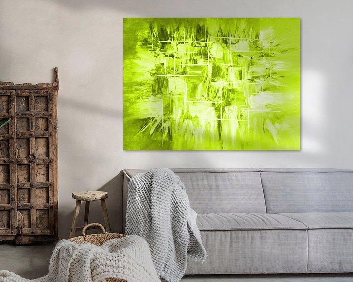 Beispiel: Explosion grün von Katrin Behr