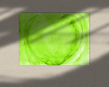 Herz grün sur Katrin Behr