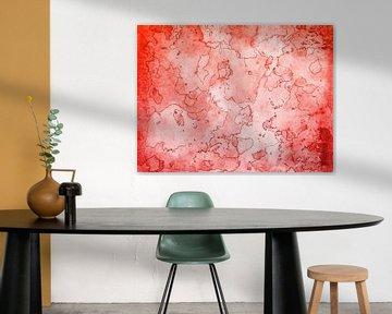 Seelen Landkarte rot sur Katrin Behr