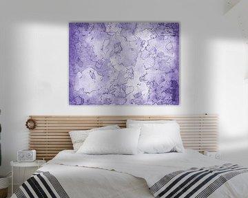 Seelen Landkarte lila
