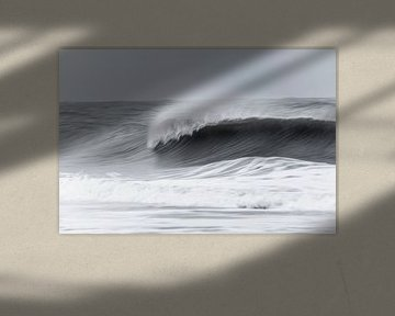 Stürmische Nordsee von Kirsten Warner