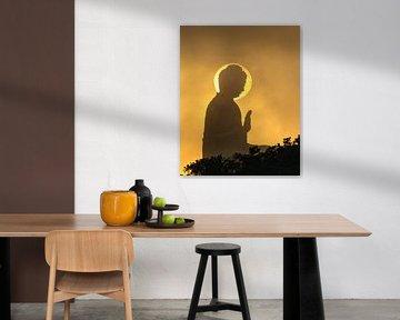 Buddha in der Sonne von Rudmer Hoekstra