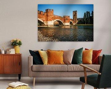 Verona - Ponte Scaligero von Alexander Voss