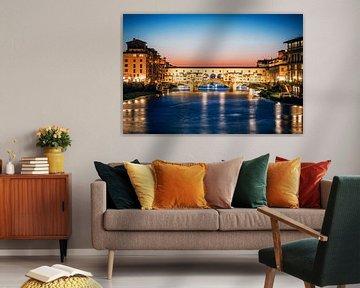Florenz - Ponte Vecchio von Alexander Voss