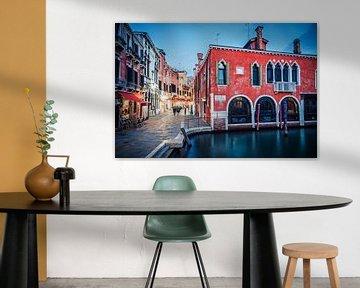 Blaue Stunde in Venedig von Alexander Voss