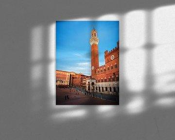 Siena - Torre del Mangia von Alexander Voss