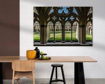 Schau durch Salisbury Cathedral von Kok and Kok