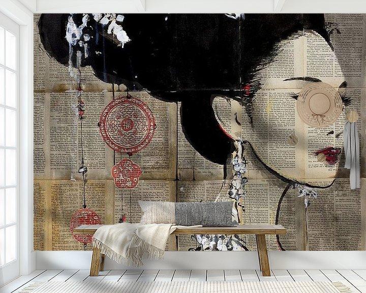 Sfeerimpressie behang: YU van LOUI JOVER