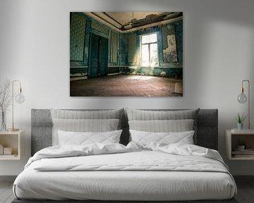Verlaten Hotel, België van Art By Dominic