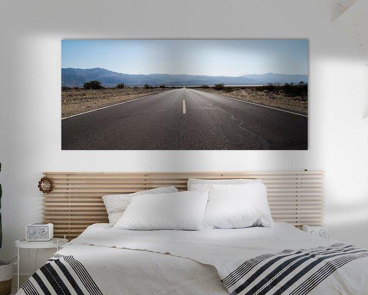 Beispiel: The road ahead is empty von Meneer Bos