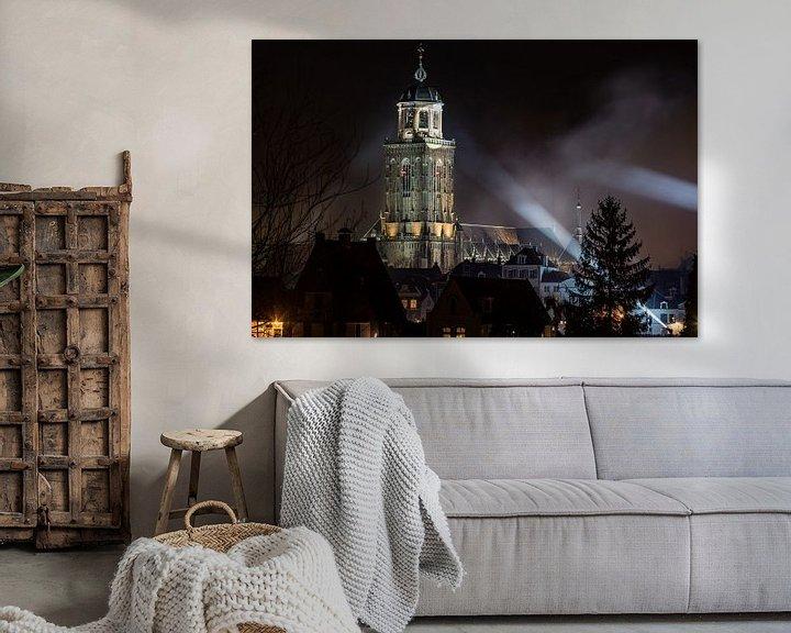 Sfeerimpressie: Deventer toren in de spotlights van VOSbeeld fotografie