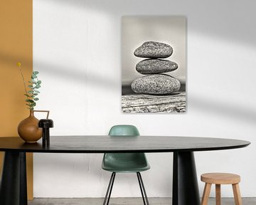 Drei Steine von Kirsten Warner