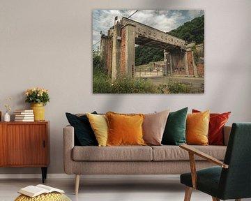 Hasard Cheratte, Steenkolenmijn, Luik, België van Art By Dominic