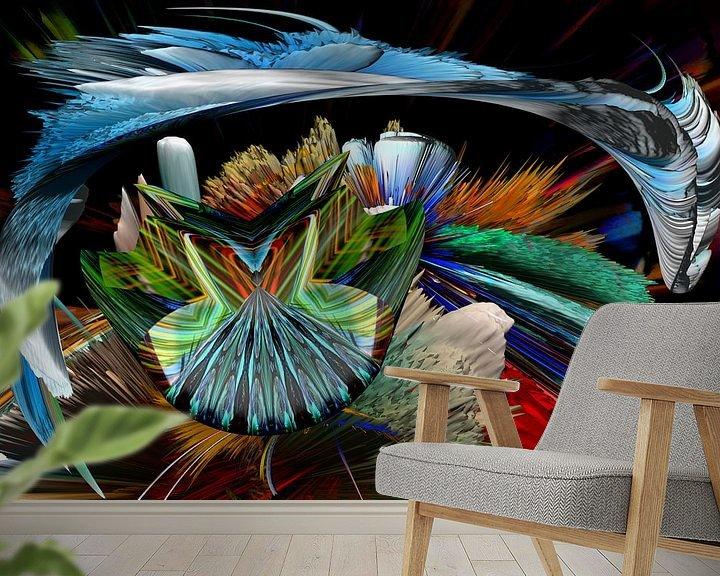 Beispiel fototapete: Crossing the dimensions von Holger Debek