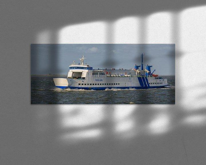 Sfeerimpressie: Veerboot Midsland van Roel Ovinge