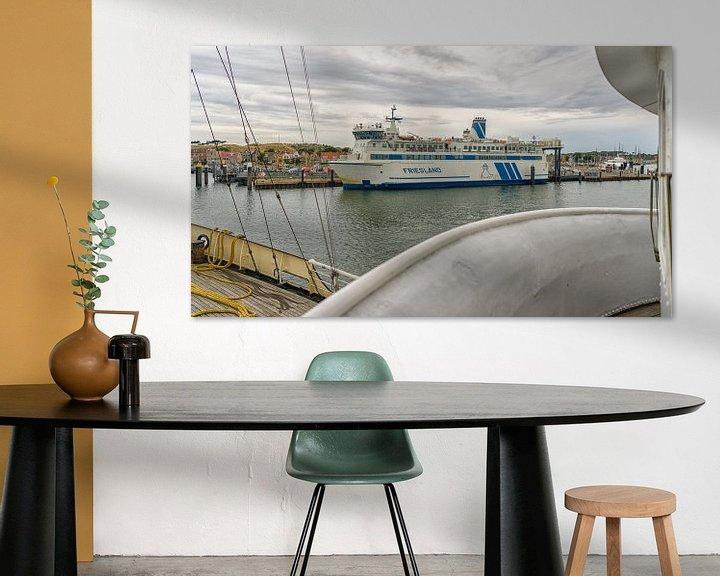 Sfeerimpressie: Veerboot Friesland van Roel Ovinge