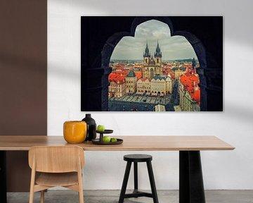Prague - Old Town Square van Alexander Voss