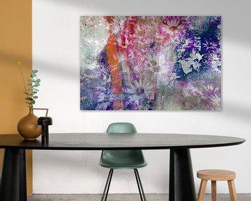 Blumen an der Wand von Eugene Winthagen