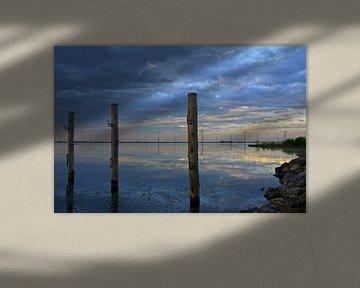 Zonsondergang Palendijk Eemmeer