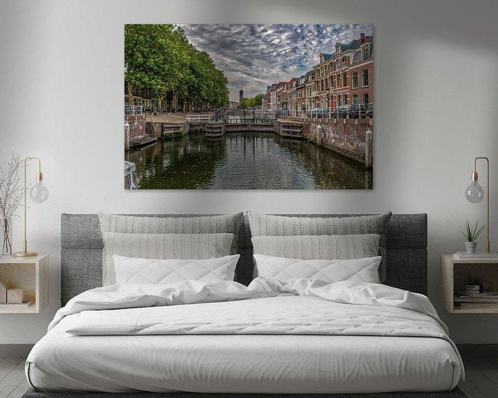 Sfeerimpressie: Weerdsluis op een  zomer ochtend. van Robin Pics (verliefd op Utrecht)