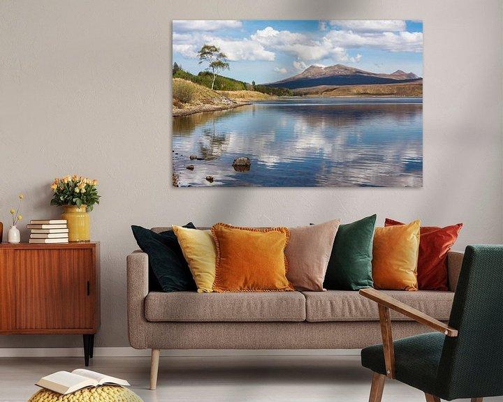 Beispiel: Romantisch loch in de Schotse hooglanden von Rob IJsselstein