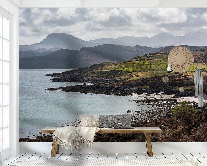 Beispiel fototapete: Heerlijk reizen in de Schotse hooglanden von Rob IJsselstein