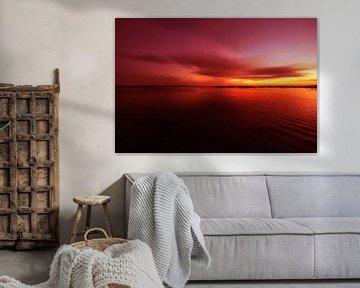 Cape Cod Sunset van Alexander Voss