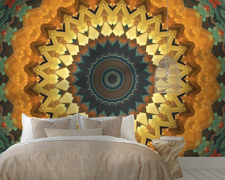 Beispiel fototapete: Mandala Stil 57 von Marion Tenbergen