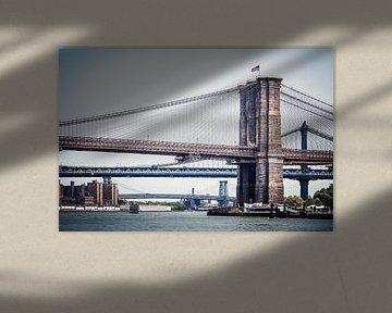 New York - East River van Alexander Voss