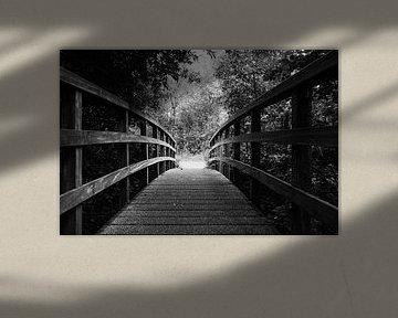 Es ist immer Licht am Ende der ..... Brücke von Fotografie Jeronimo