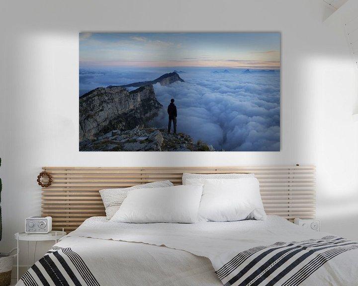 Sfeerimpressie: Sea of clouds van Sander van der Werf