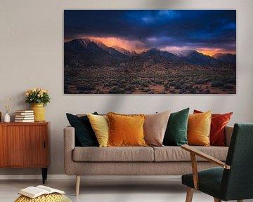 Sierra Nevada Zonsondergang van Joris Pannemans - Loris Photography