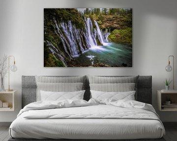 Burney waterval van Joris Pannemans - Loris Photography