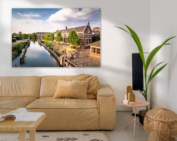 Das Schloss bei OpBuuren in Maarssen (Utrecht, Niederlande) von Michel Geluk