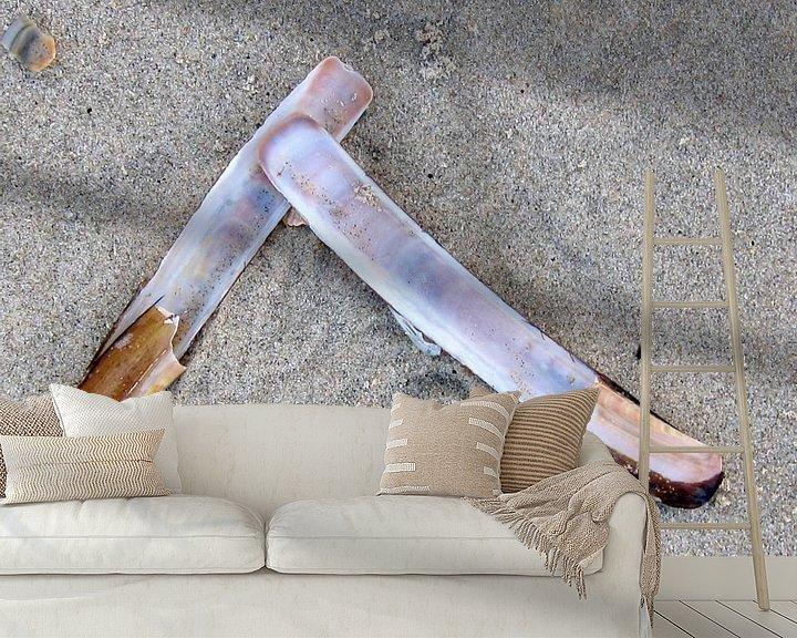 Sfeerimpressie behang: Messcherp van Jon Houkes