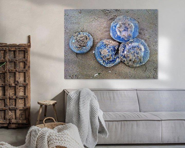 Sfeerimpressie: De vier blauwe kwallen van Jon Houkes