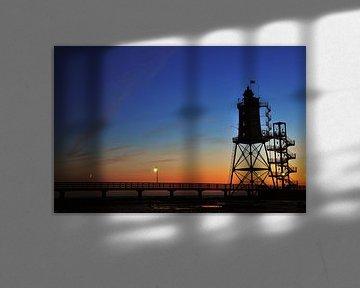 Lighthouse at sunset von Lex Schulte