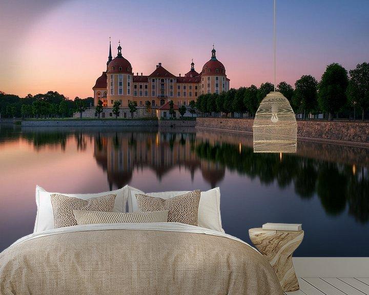 Beispiel fototapete: Schloss Moritzburg von Patrick Noack