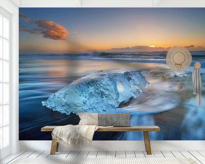 Beispiel fototapete: Diamondbeach von Patrick Noack