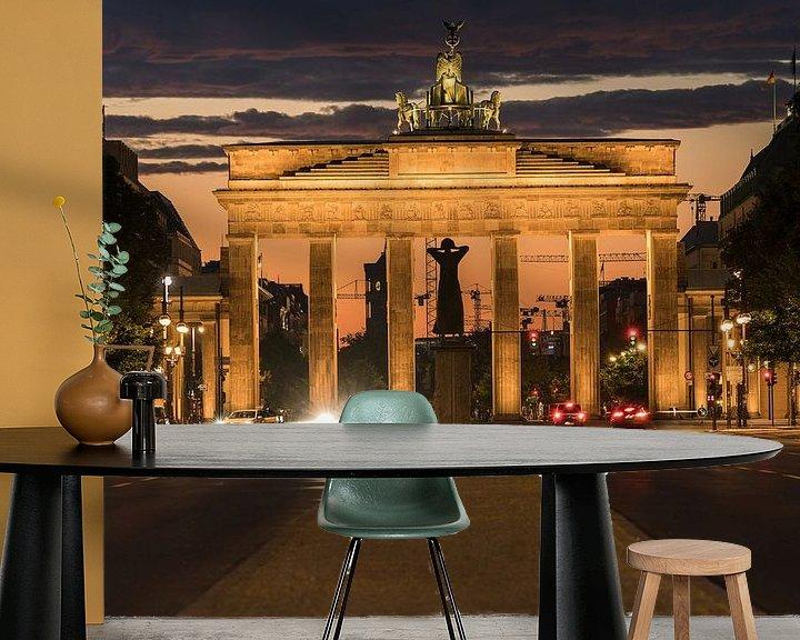 Beispiel fototapete: Brandenburger Tor von Patrick Noack