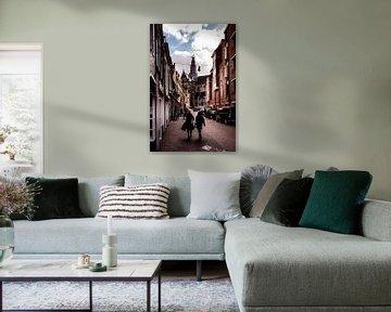 Smedestraat Haarlem von Bart Veeken