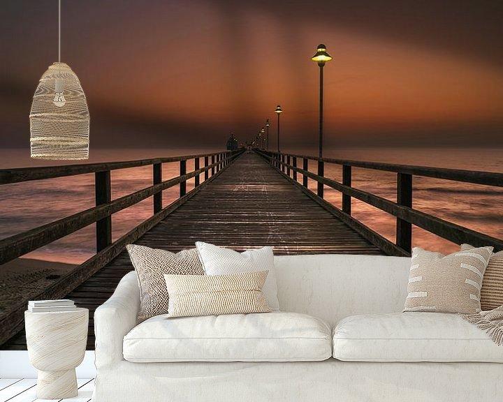 Beispiel fototapete: Seebrücke Zinnowitz von Patrick Noack