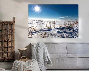 Armeens sneeuwlandschap von Gerard van den Akker