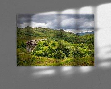 Glenfinnan viaduct van Kim Claessen