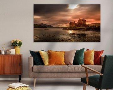 Eilean Donan Castle (Schottland) von Dennis Wardenburg