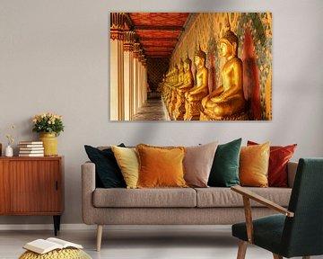 Boeddha beelden in tempel