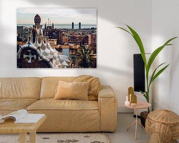 Barcelona Skyline von Alexander Voss