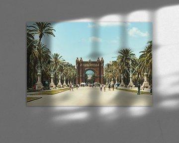 Arc de Triomf barcelona spanje van Dennis Kluytmans